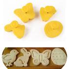 Decorating Plunger Cutter Moulds Cake Fondant Sugarcraft Cookies for Easter Pop