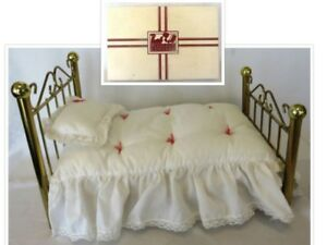 Pleasant Details About Archived 1986 2008 American Girl Samanthas Bed Bedding Sb W Original Box Download Free Architecture Designs Photstoregrimeyleaguecom