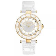 Weiße Frau uhr Versus Versace Logo SP815 wk elegante gold Zeremonie zu sehen