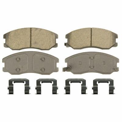 Disc Brake Pad Set-ThermoQuiet Disc Brake Pad Front Wagner QC1327