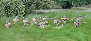 28mm-WW2-Russian-Soviet-Rifle-Squad03-10-figures-Bolt-Action-Chain-of-Command