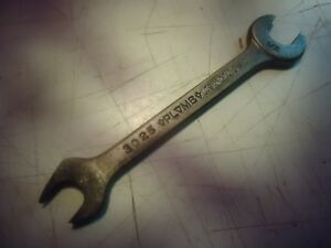 Plomb-Los-Angeles-Plvmb-No-3025-open-end-wrench-vintage-A-122