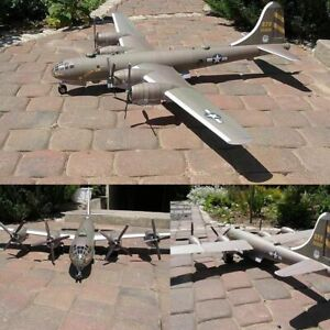 1-47-Boeing-B-29-SuperFortress-Bomber-Bombardment-Aircraft-Paper-Model-Kit-Toy