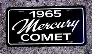 1965 Mercury Comet  License plate car tag 65 MERC sub compact
