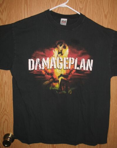 Damage Plan - All About Blowing Shxt Up Concert T-Shirt (XL) Black