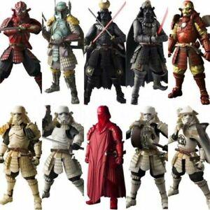 "7/"" Star Wars Samurai Model Movie Figure Realization Darth Vader Darth Maul Toy"