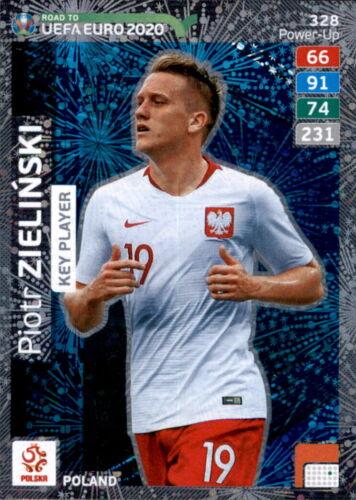 Panini Adrenalyn Road to EURO EM 2020 Key Player Karte 328 Piotr Zielinski
