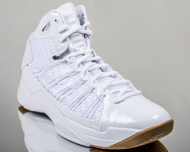 Nike Hyperdunk LUX men basketball lifestyle shoes 2016 08 NEW white gum brown