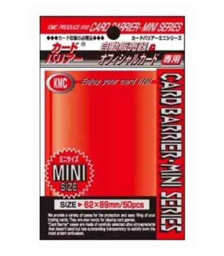 KMC small sleeves Japon format Metallic Gold enveloppes yu-gi-oh perfect size Mini