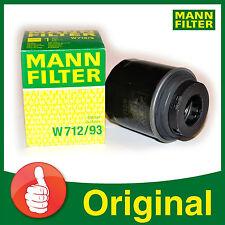 Original MANN FILTER Ölfilter W 712/93 VW GOLF 1.2 1.4 TSI AUDI A3 PASSAT SKODA