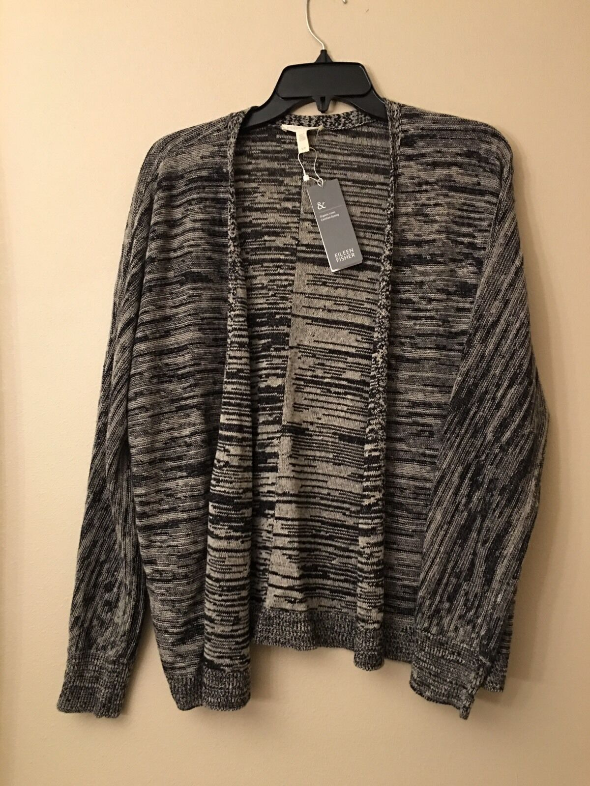 NWT EILEEN FISHER Organic Linen Sweater Cardigans Sz S
