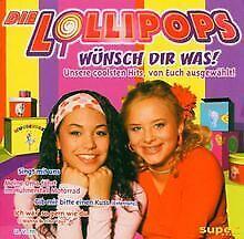 Wuensch-Dir-Was-von-die-Lollipops-CD-Zustand-gut