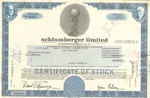 Schlumberger-Limited-gt-Netherlands-Antilles-oil-gas-share-stock-certificate