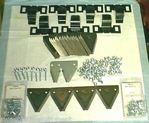 SWITCH-Your-FORD-501-SICKLE-MOWER-From-RIVETS-to-BOLTS-KIT-WITH-2-034-CENTER-LINE