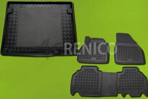 Gummi-Fußmatten+Kofferraumwanne RENAULT KANGOO 2008-heute 5-Sitzer