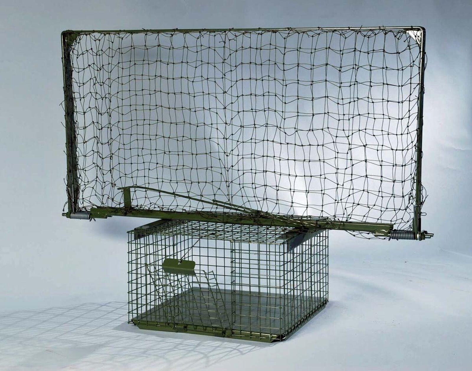 Habichtfangkorb Habicht Lebendfalle mit Köderbox Vogelfalle Tierfalle Jagd  | Sorgfältig ausgewählte Materialien