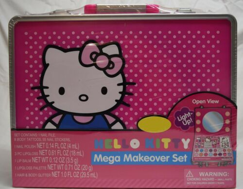 unopened Hello Kitty Mega Makeover SuitcaseONLY