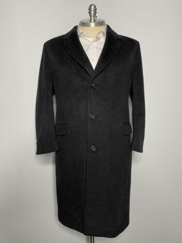 Kuppenheimer Overcoat Gray Wool Cashmere Trench To