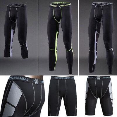 Under Base Layer Tights Compression Shirt Shorts Running Jogger Pants Athleisure