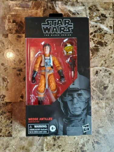 """Wedge Antilles 6/"""" The Black Series Star Wars #102 Hasbro NEW Comme neuf IN BOX"""