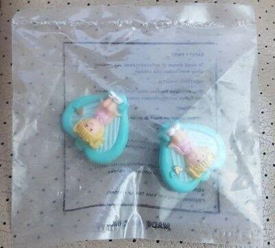 1991 Polly Pocket Lulu Clip On Orecchini Sigillato Nuovo Di Zecca In Confezione-mostra Il Titolo Originale