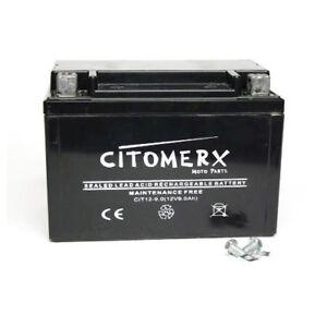 Ytx9-bs-ctx9-bs-senza-manutenzione-batteria-moto-Merce-Nuova