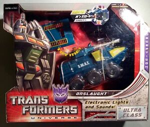 Transformers Universe Onslaugh Ultra Classe Hasbro Mib Classics Henkei