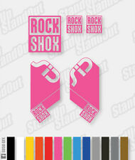 RockShox SID 2010 Style Decals / Stickers - Custom / Fluorescent Colours