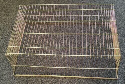 "TG11 Boiler Flue Terminal Guard 22/"" x 14/"" x 8/"" rectangular zinc finish basket"