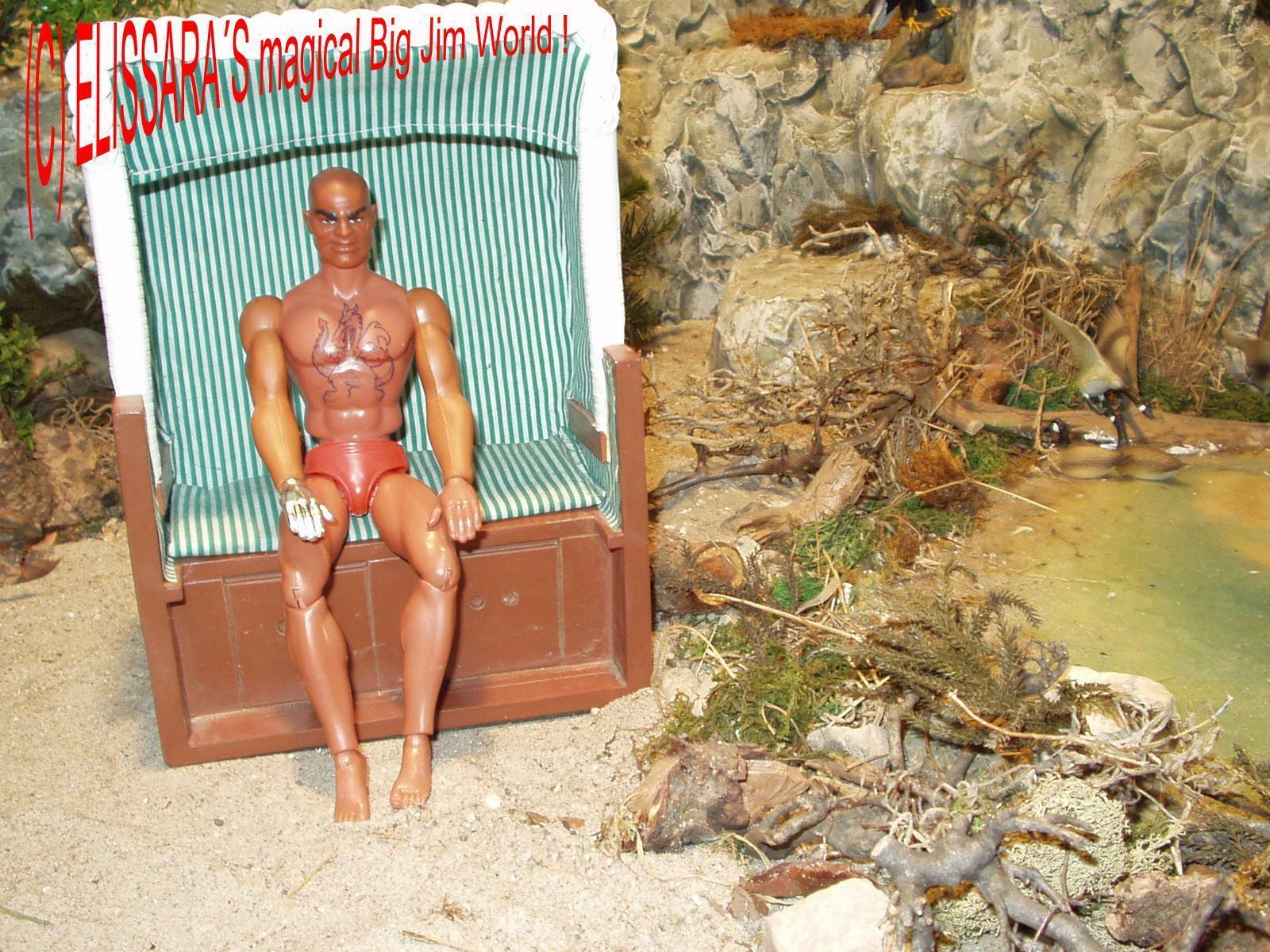 Big Jim - Dr. Steel Judo - Mattel 1971  - Nude - with Top Tatoo