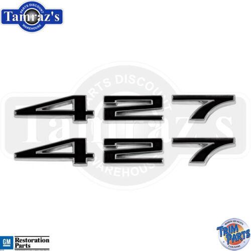 "1967-1969 Corvette Hood Emblem Number /""7/"" NEW"