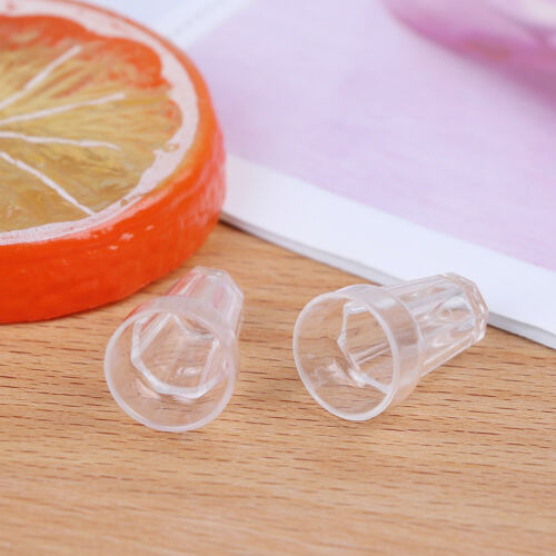 4pcs 1//12 Dollhouse Miniature clear Wine trago Cups Toys Kids Doll accessory — HQ