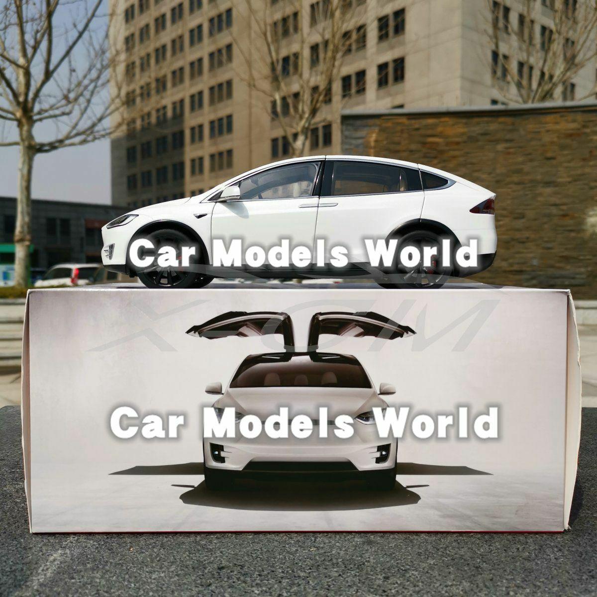 Diecast Car Model for Model X (White) 1 18 + GIFT