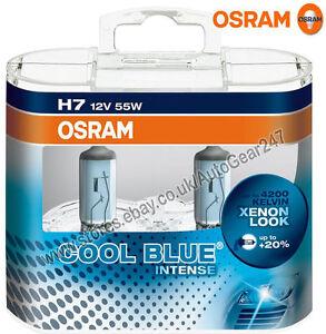 Osram-H7-12V-55W-Cool-Blue-Stark-4200K-Auto-Scheinwerfer-Heller-Gluehbirnen