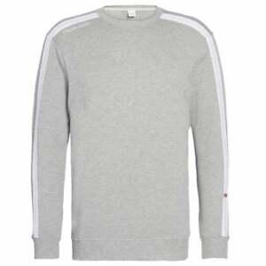 longues à manches gris chiné Calvin Klein Sweat EaSqW