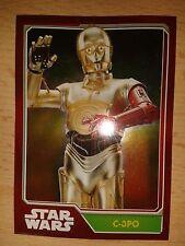 Topps Star Wars Erwachen der Macht Mirror-Karte Nr.189 C-3PO Sammelkarten