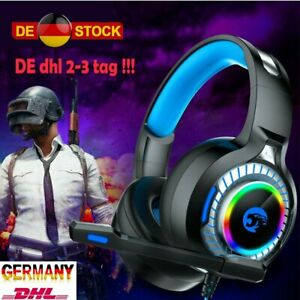 Gaming-Kopfhoerer-3-5mm-Mit-Mikrofon-LED-Headset-fuer-PC-Laptop-PS4-Xbox-One-360