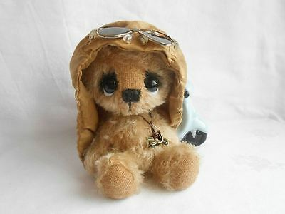 Mohair Bear  Sewing Kit  7 - 7,5 Inch (Hat & Glasses included)