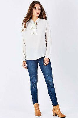 NEW boho bird Womens Skinny Jeans Wild West Stitched Jeggings
