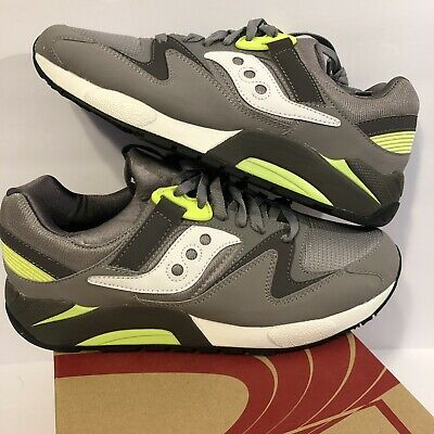 Saucony grid 9000 mens green black athletic casual running