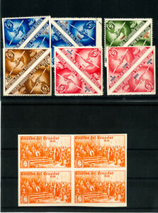 Ecuador-Stamps-1936-1939-Lot-of-Airmail-Proofs