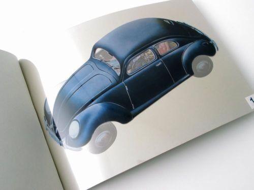 VW Brezel Käfer Transart Prospekt  25 Jahre alt !! wunderschön !