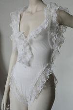 CAPRICCI Ibiza Damen Body Unterwäsche weiss TRUE VINTAGE 90er women's body white