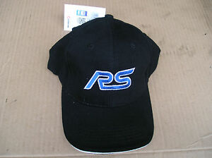 Richbrook-FORD-Collection-NEW-RS-Logo-BASEBALL-CAP-5500-59-Black-universal-fit