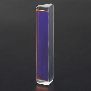 Spettro luce triplice OTTICO VETRO PRISMA fisica estremità insegnamento