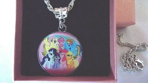 MY LITTLE PONY FREIND SHIP IS MAGIC STRONG CHAIN 18 INCH GIFT BOX BIRTHDAY PARTY
