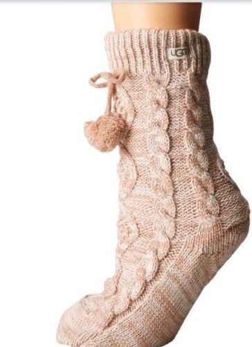 1014837s d'acqua dolce New Pom Modello Donna Ugg Perle Crew 190108188257 Socks Fleece Lined vRaBppxWfq