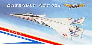 1-72-Dassault-Aviation-ACT-92-1-72-scale-resin-kit