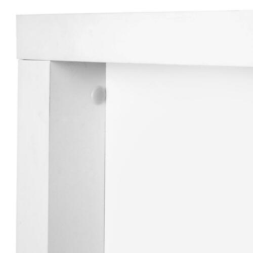 Modern Computer Desk Table Workstation With Drawers In White For Home Office NEW