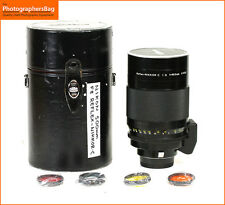 Nikon 500mm F8 Relflex  Nikkor C Manual Focus Mirror lens Free UK Post